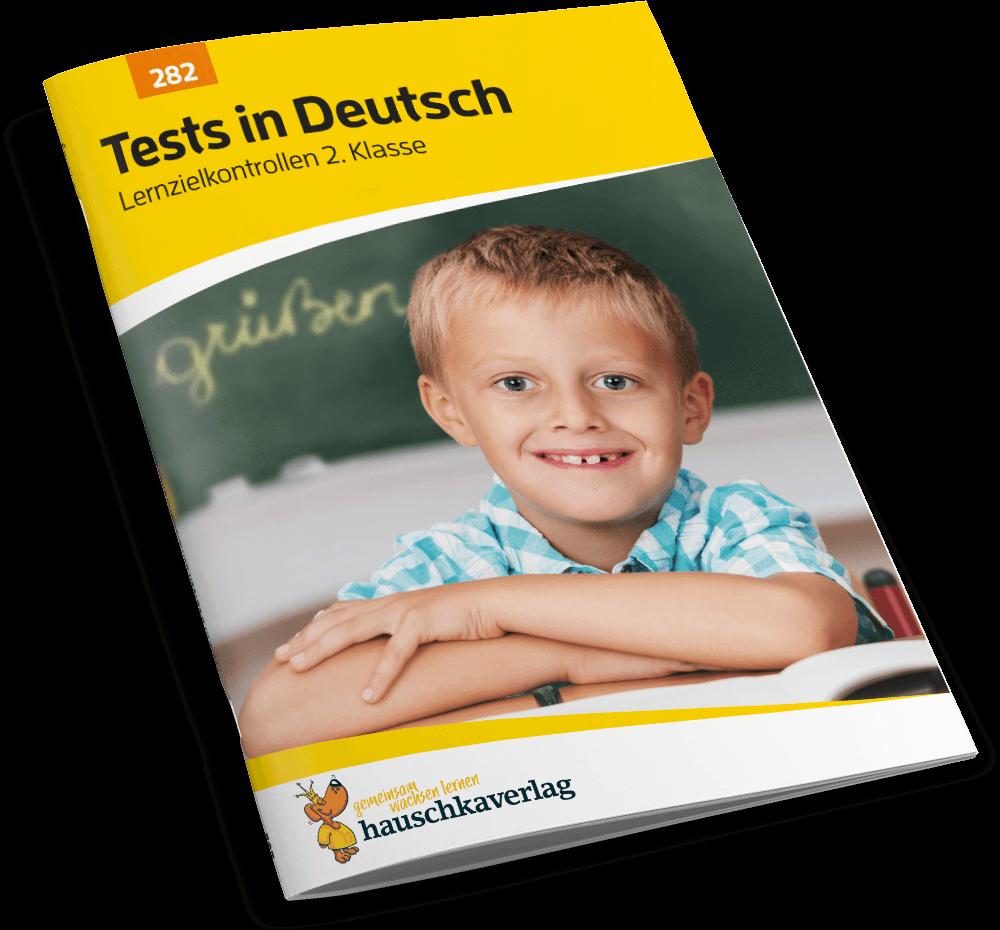Tests in Deutsch: Lernzielkontrollen 2. Klasse