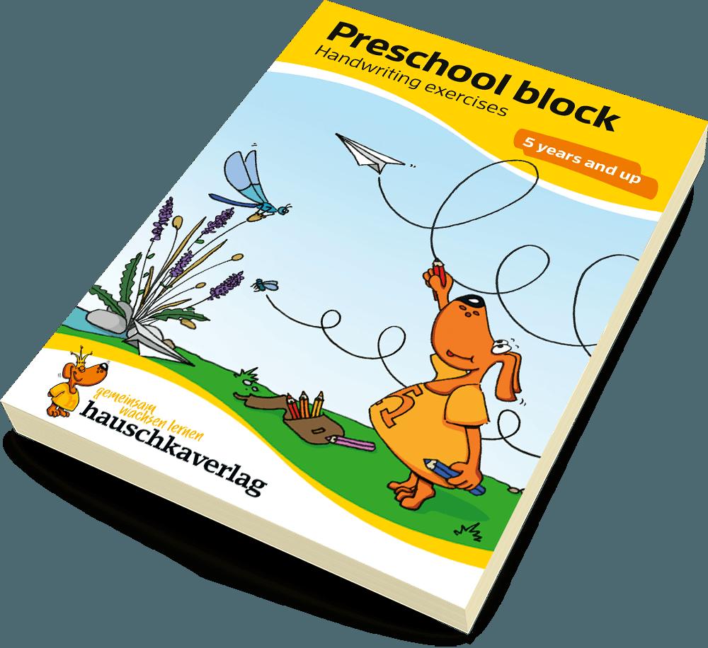 Preschool block - Handwriting exercises 5 years and up