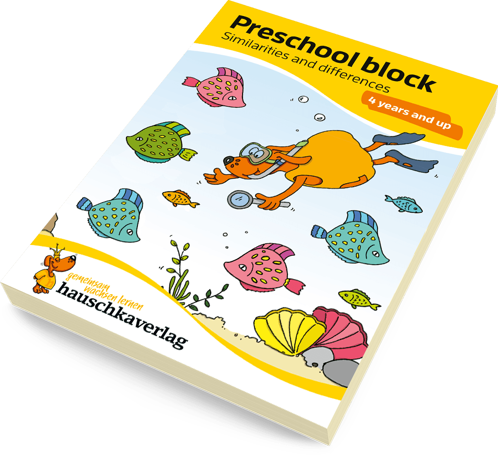 Preschool block - Similarities & differences 4 years and up