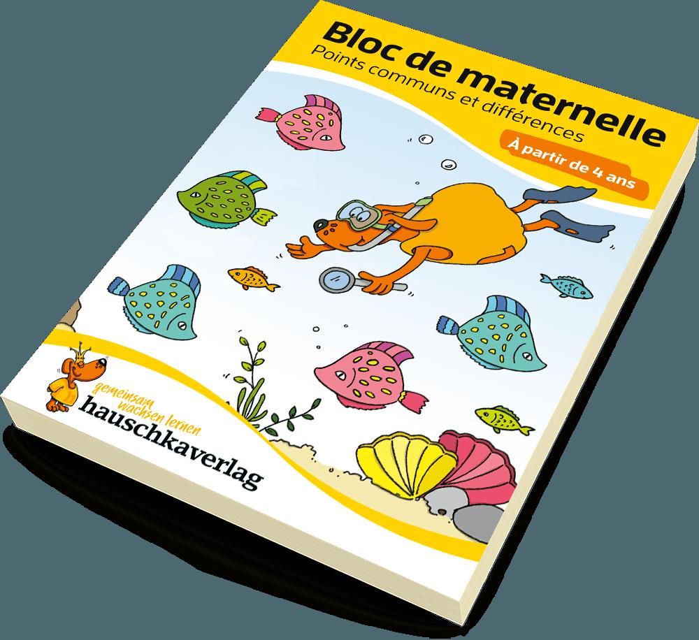 Bloc de maternelle - Points communs et différences À partir de 4 ans