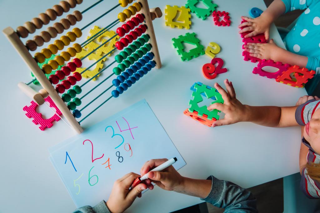 Zahlen entdecken, Mathematik, Rechenschieber, Zahlenräume, Zahlen