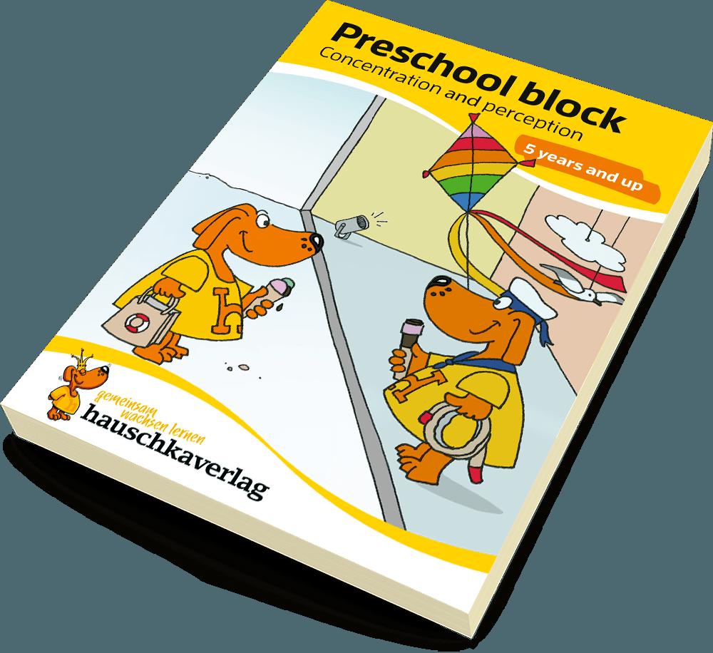 Preschool block - Conentration and perception | Nr. 734