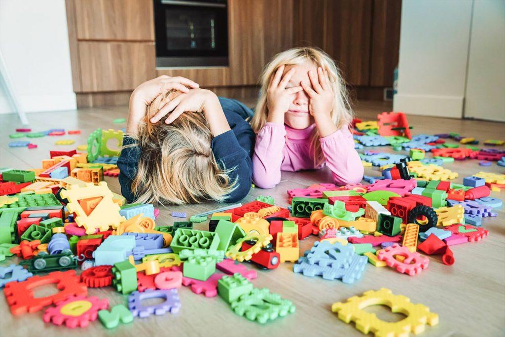 Langeweile, Pause, Kinder, Spielen