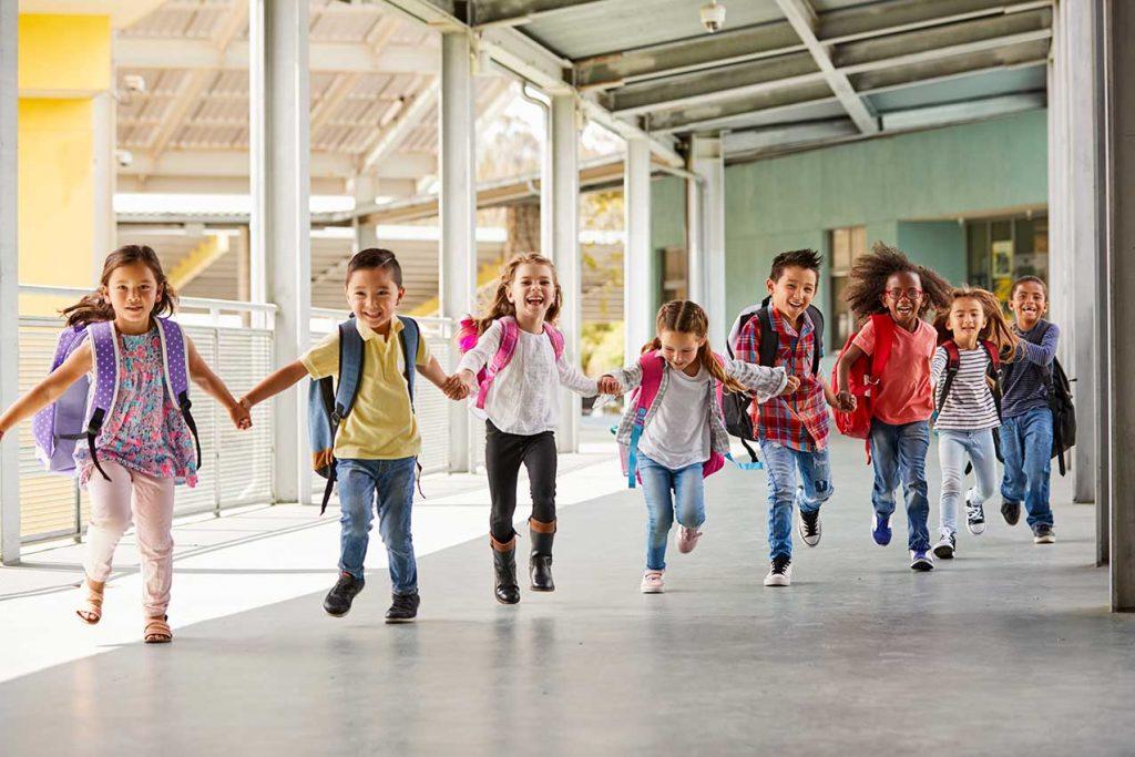 Kinder, Schulstart, 1. Klasse