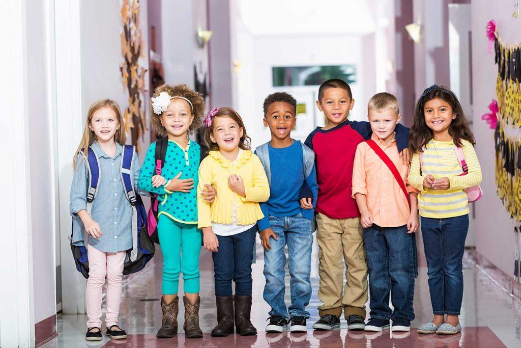 Kinder, soziale Kontakte, Vorschule
