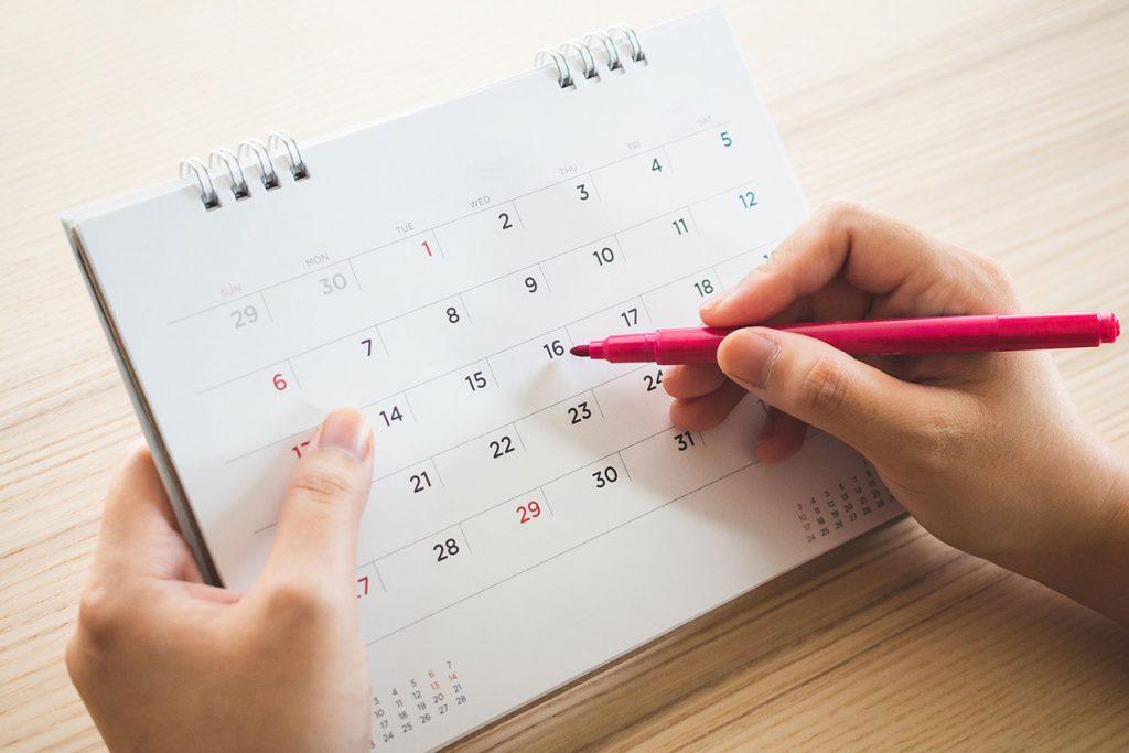 Wochenplan, Schulalltag, Schule organisieren